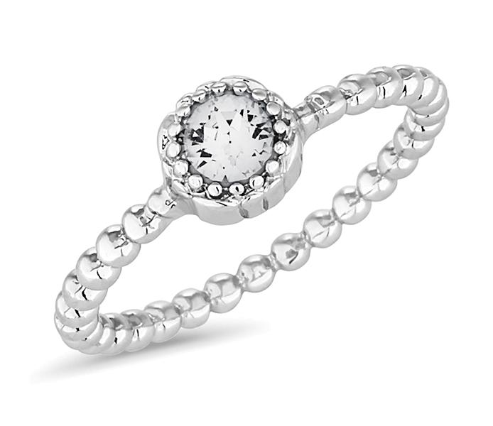 April Gemstone Ring
