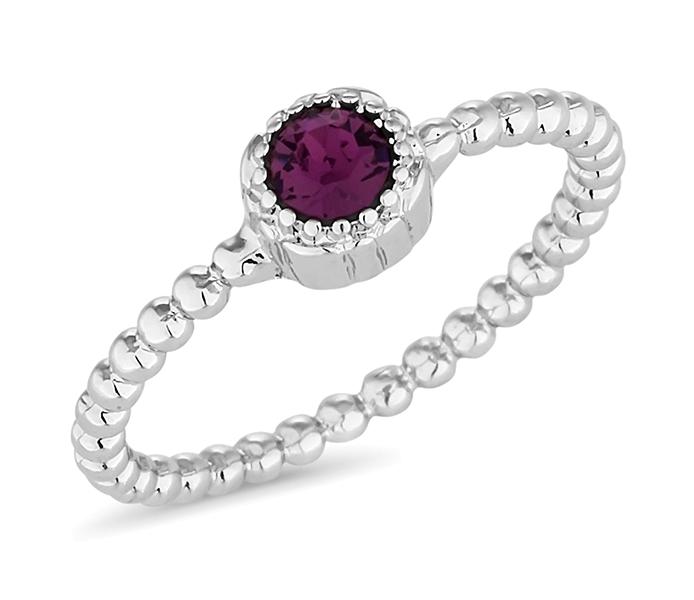 February Gemstone Ring