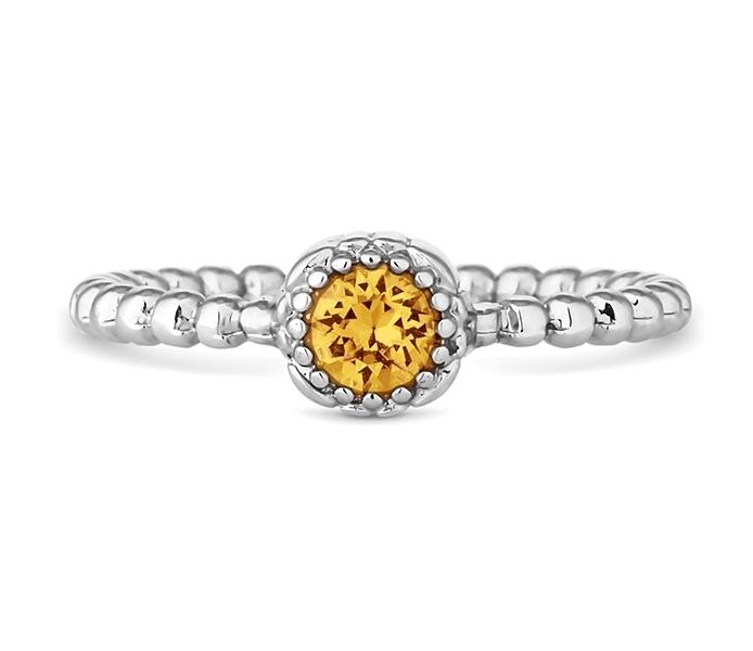 November Gemstone Ring