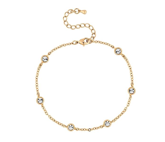 Dewdrop Bracelet in Gold Plate
