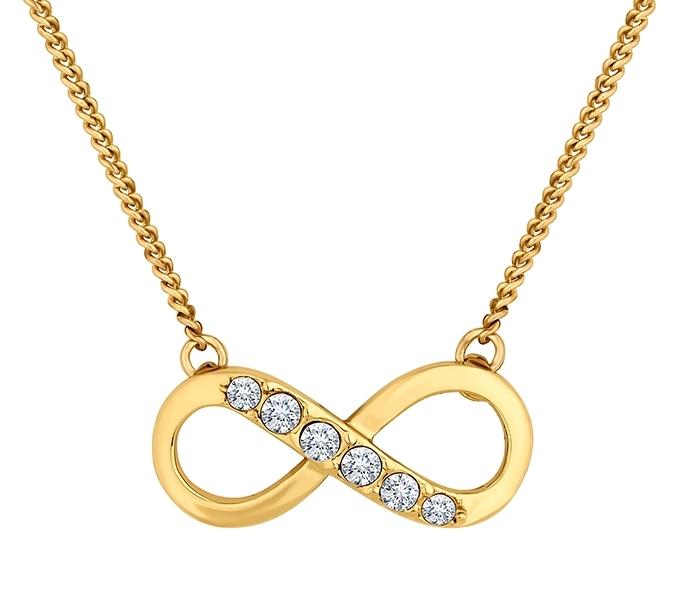 Infinity Pendant Gold