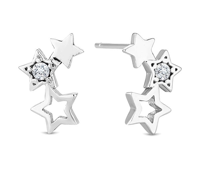 Starry Stud Earrings