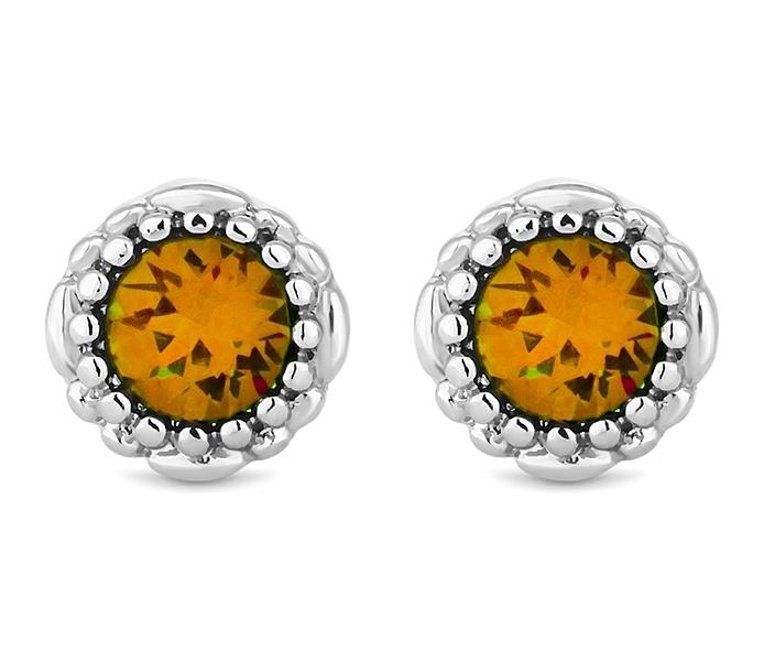November Gemstone Stud Earrings
