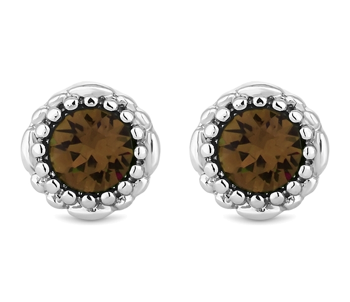 June Gemstone Stud Earrings