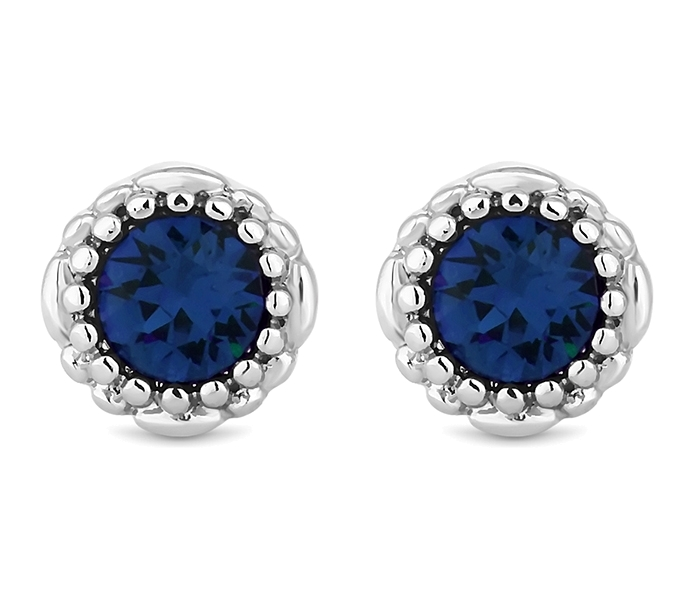 September Gemstone Stud Earrings