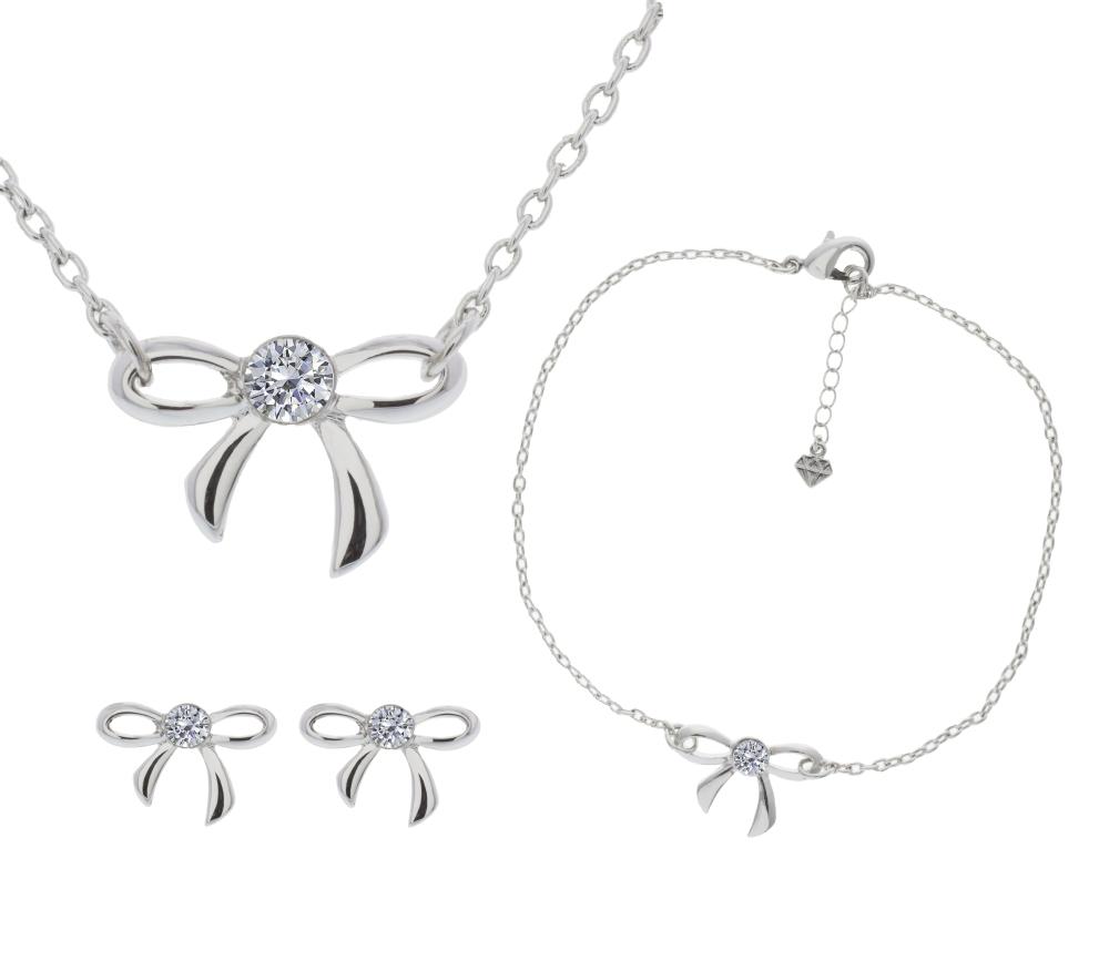 Bow Tri set with Bracelet