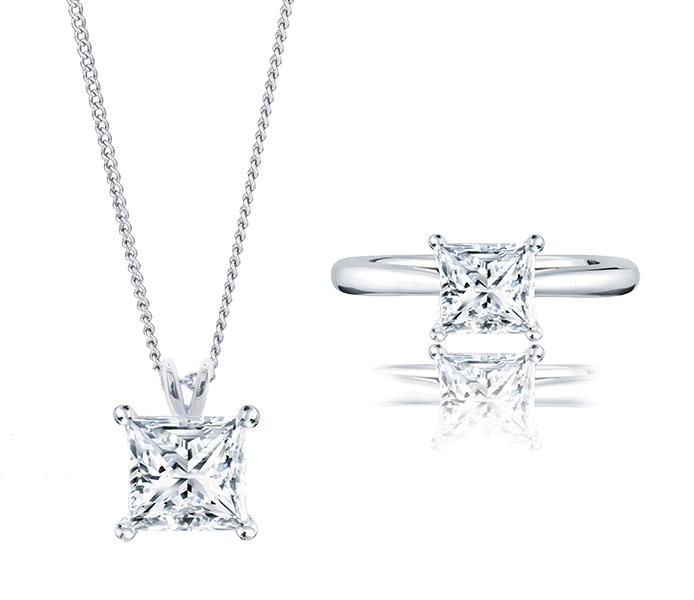 Princess Pendant and Ring